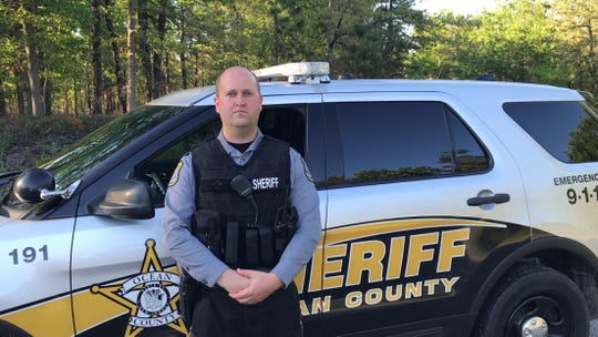 Ocean County Sheriff's Officer Robert P. Mazur Jr. has been tasked with taking charge of this summer's traffic safety campaign on 38 miles of county-owned Route 539.