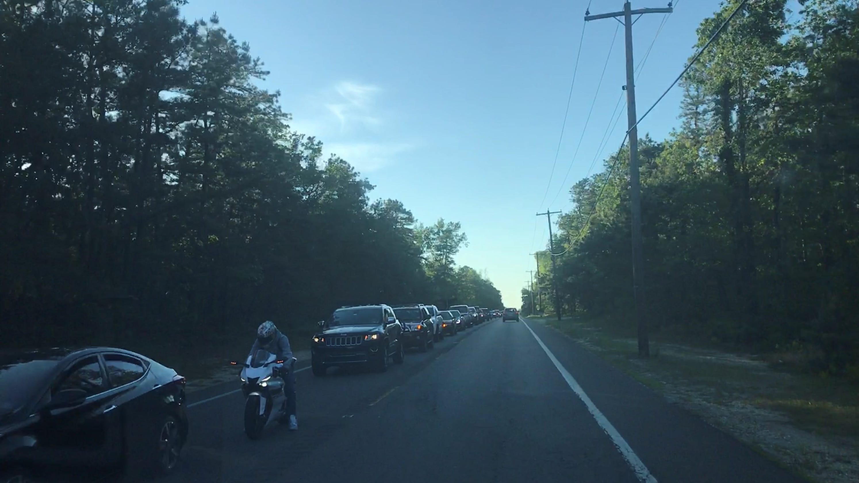 Motorcyclist hurt in crash with deer on Route 539 in Plumsted