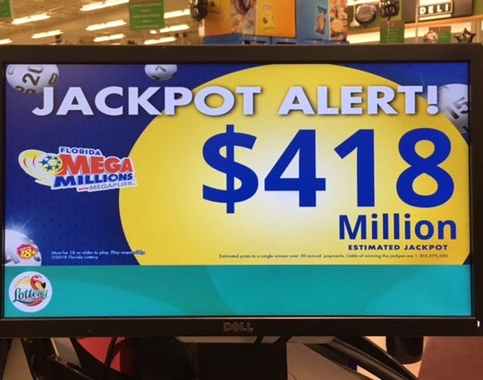 Mega Millions is now the ninth-largest jackpot of its kind.