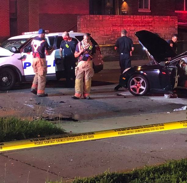 3 people including CPD officer, woman with serious injuries taken to hospital after crash