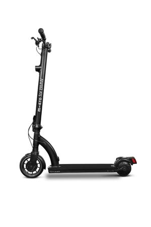 Created as part of the first collaboration between the BMW Group and Micro, the adjustable BMW City Scooter allows the rider to take it with them everywhere thanks to its triple-secured folding and locking mechanism