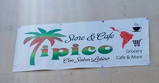 Tipico is located at 4313 Morgan Avenue. Look close, the sign is small, but the flavors are big.