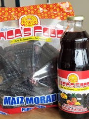 You may find Peruvian chicha or purple corn for making your own chicha at Tipico Grocery and Cafe.