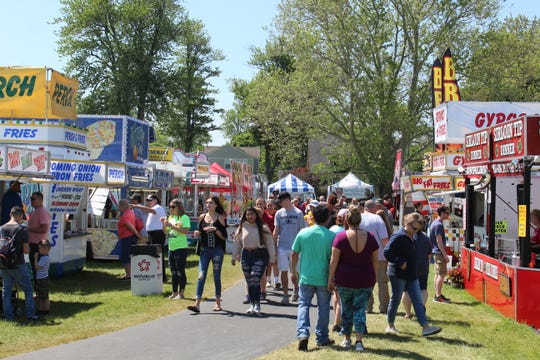 Thousands of visitors came out to the 39th annual Main Street Port Clinton Walleye Festival this year over the Memorial Day weekend.