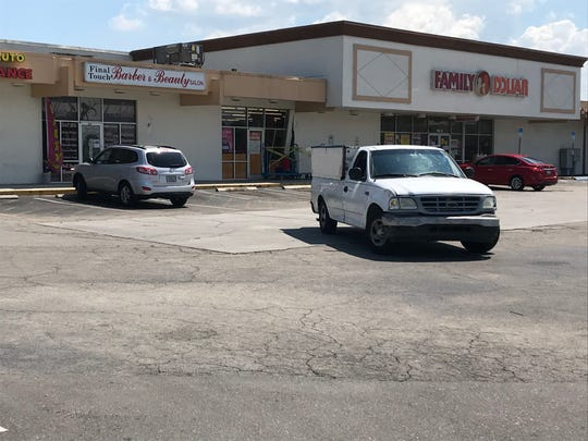 A Family Dollar store along Homestead Road North in Lehigh Acres had to close for more than an hour Monday after a man accidentally crashed into on of the store's entrances.