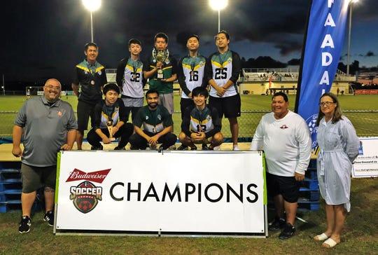 Guam Football Association Amateur League Champs, the UOG Tritons
