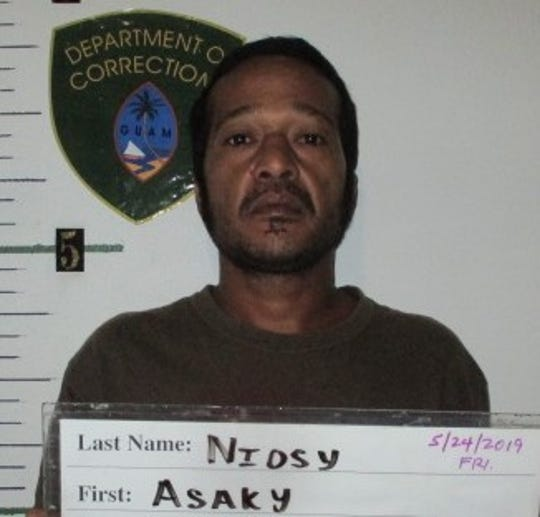 Asaky Niosy, 34, was charged with home invasion as a first-degree felony, burglary as a second-degree felony, two counts assault as a misdemeanor and disorderly conduct as a petty misdemeanor.