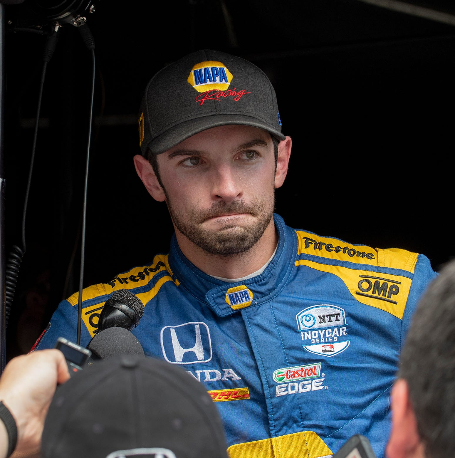 Doyel: Fire and rage of Alexander Rossi steal show again at Indy 500