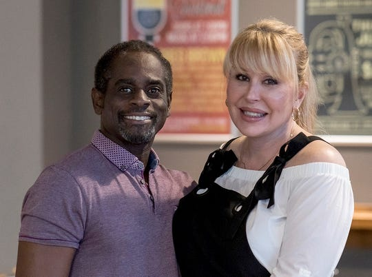 Doug Anthony of Someone Cares Inc. and Candi Stratton, MissTrans USA