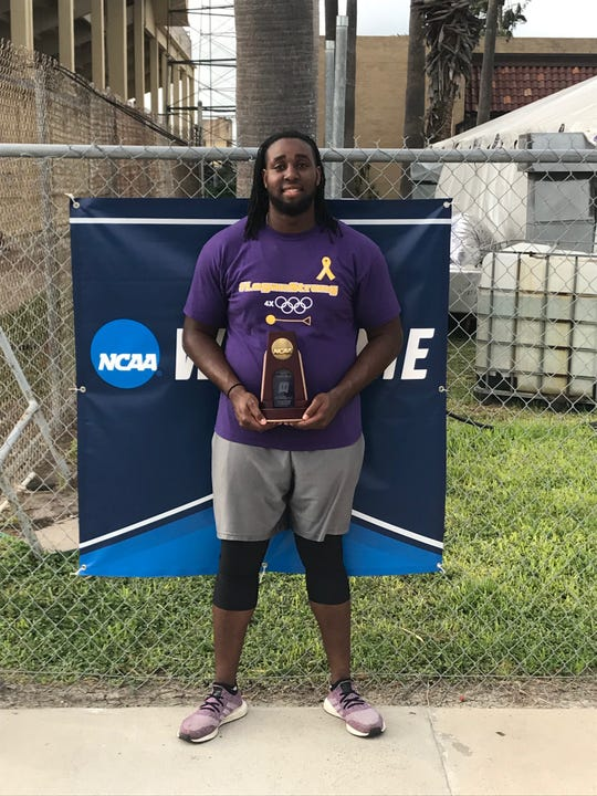 Madison grad Alex Hill finished third in the hammer and fourth in the discus at the NCAA Division II track and field nationals.