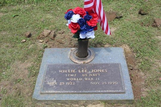 Willie Lee Jones was a retired World War 2 veteran that passed in 1990.