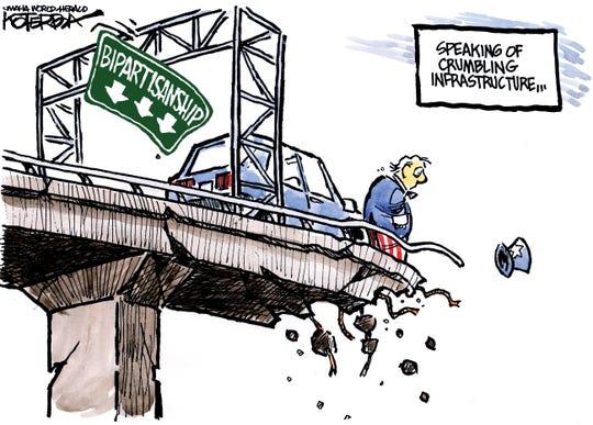 road to bipartisanship crumbling