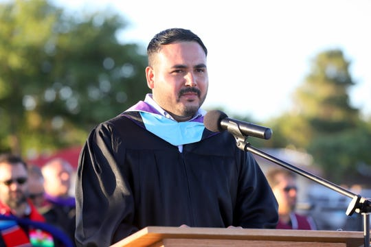 Alfredo Reyes, keynote speaker for the DHS Class of 2019.