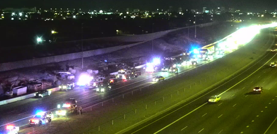1 seriously hurt in multi-vehicle crash on I-10 in west Phoenix