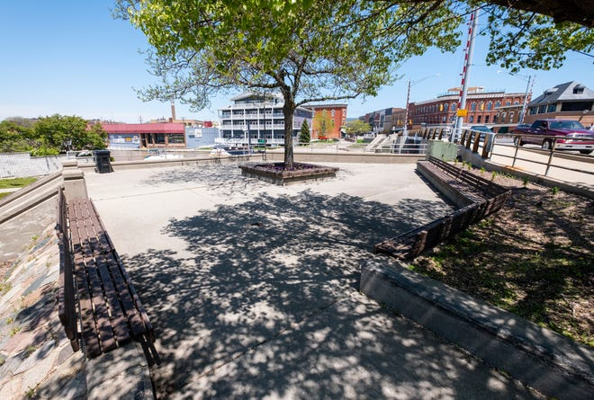 A few changes are being considered for the small pocket park located on the corner of Military and Water streets in downtown Port Huron.