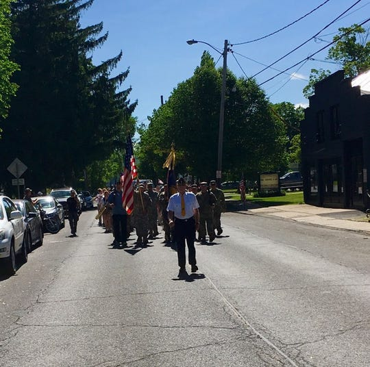 Millerton American Legion Post 178 hosts a Memorial Day parade in the Town of North East on Monday, May 27, 2019.