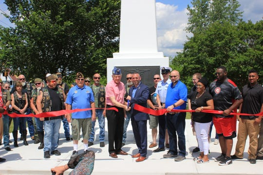 City of Salisbury celebrated the 1955 War Memorial Restoration with a ribbon cutting on Monday, May 27, 2019.