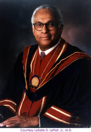 Dr. LaSalle D. Leffall Jr.  died Saturday, May 25, 2019.