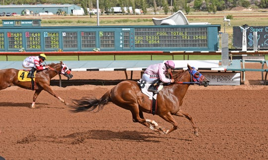 Cds Wine N Dine qualified for the Saturday, June 8, 2019, Ruidoso Derby.