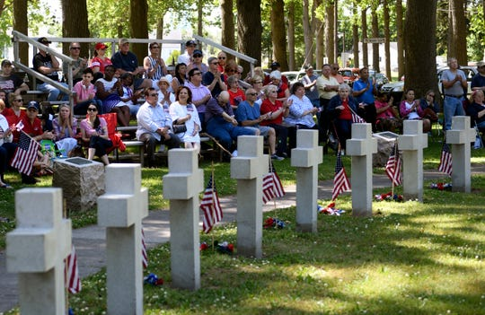 Vineland celebrated Memorial Day with a parade down Landis Avenue followed by a ceremony honoring fallen soldiers at Veteran's Park on Monday, May 27, 2019.