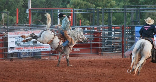 The Wichita County Mounted Patrol Championship Rodeo will take place from 7:30 to 10:30 p.m. tonight and Saturday at the Wichita County Mounted Patrol Rodeo Grounds.