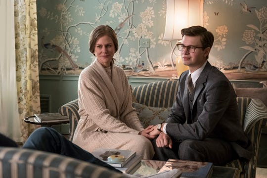 """Mrs. Barbour (Nicole KIdman) is still a surrogate mom to Theo (Ansel Elgort), even years after his mother is killed in """"The Goldfinch."""""""