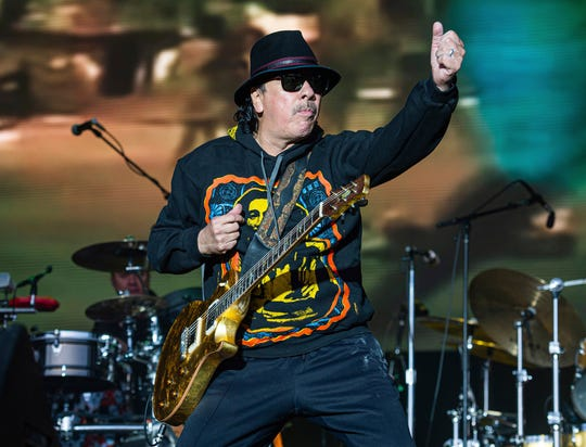 Santana and the Doobie Brothers play Riverbend Saturday evening.