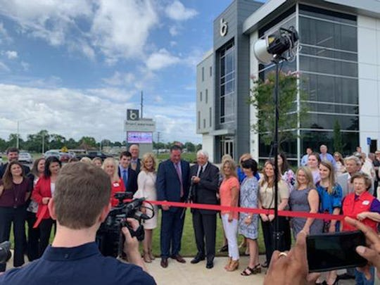 Brian Caubarreaux and Associates, a personal injury law firm, with two offices in Central Louisiana, held a ribbon cutting and open house Tuesday, May 28, 2019, at their new Alexandria office location at 2204 MacArthur Drive. The law firm serves clients in the areas of automobile accidents, 18-wheeler accidents, offshore accidents, premises liability, intentional torts, wrongful death and survivor claims. The firm has another office at 144 Tunica Drive West in Marksville. For more information, call (318) 442-0900 or visit DoItRight.com