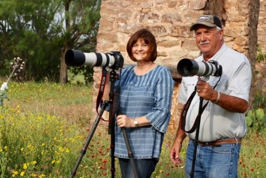 Photographers Linda Hammond and Gary Womack are related by marriage. Together, they won six 2019 Reporter-News wildflower contest awards, including four firsts.