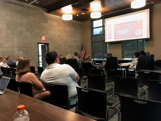The Owego-Apalachin Central School District held a Public Budget Workshop Tuesday evening to discuss options following last week's budget defeat.