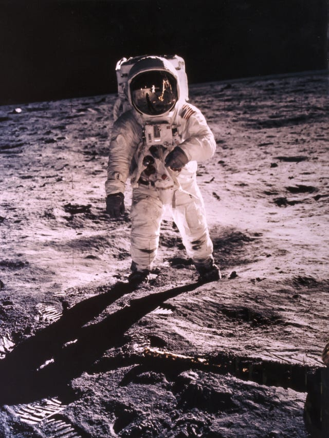 Apollo 11: Buzz Aldrin recalls moon landing on 50th anniversary of