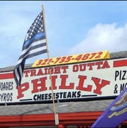Mike Weiss found the food at Straight Outta Philly to be delicious.