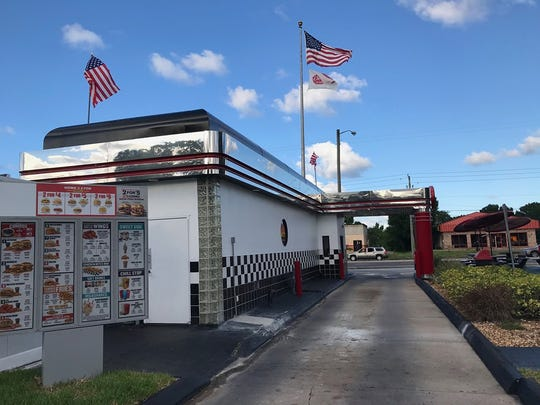 Checkers in Palm Bay is back open and serving up fresh burgers again.