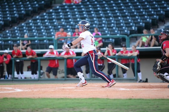 Kelly Kretschman, who has been playing for USSSA Pride since 2009, was named a member of the 2018 USA Softball Women's National Team.