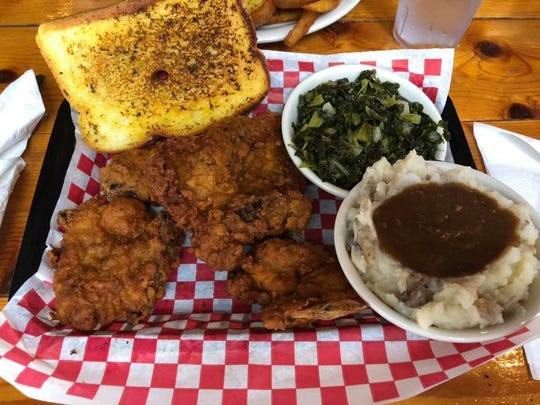 Jennifer Long said she'd heard good things about the chicken at Murdock's in Cocoa Village, and she wasn't disappointed.