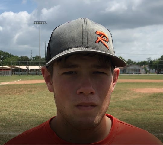 Refugio baseball Colten Hesseltine