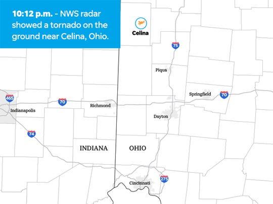 Ohio tornadoes: A timeline of destruction