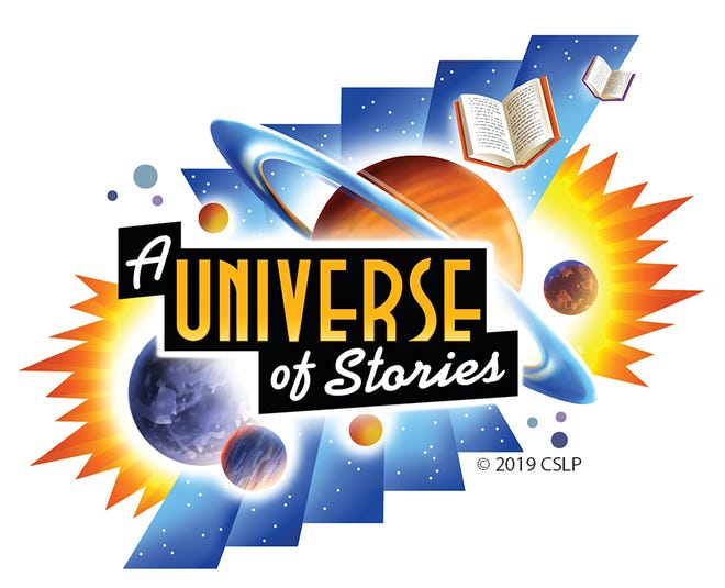 """2019 Summer Reading Program """"A universe of stories"""""""