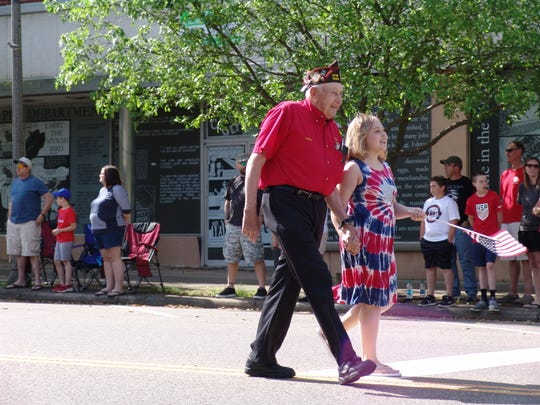 A number of organizations as well as individuals took part in Monday's parade in downtown Coshocton.