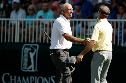 Whether playing at Glen Oaks Country Club or the Wakonda Club, Tom Lehman has never finished outside the top eight in seven appearances at the Principal Charity Classic in Des Moines. The Minnesota native won last year's tournament, which was shortened to 36 holes because of poor final-round weather.