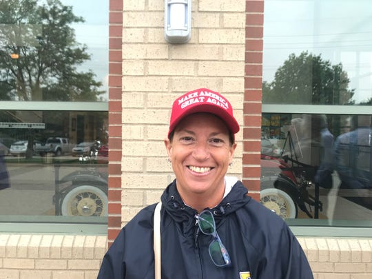 Diane Luke, a Grand Rapids educator and Trump supporter, thinks Amash should resign.