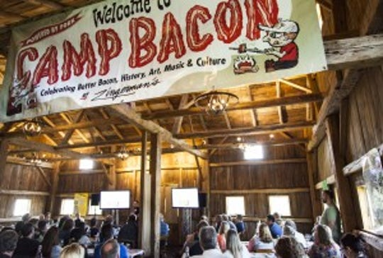 Camp Bacon is celebrating its 10th anniversary.