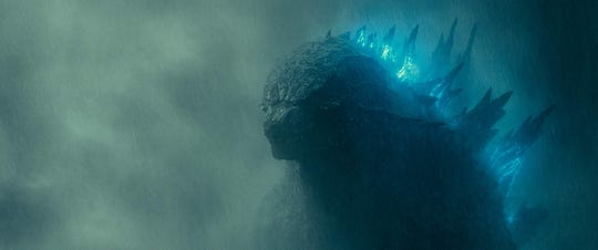 "Godzilla in ""Godzilla: King of the Monsters."""