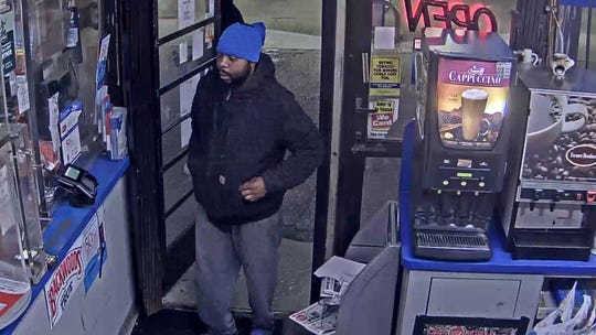 Police are looking for this man in connection with a Monday morning carjacking in the 9400 block of Woodward Avenue.