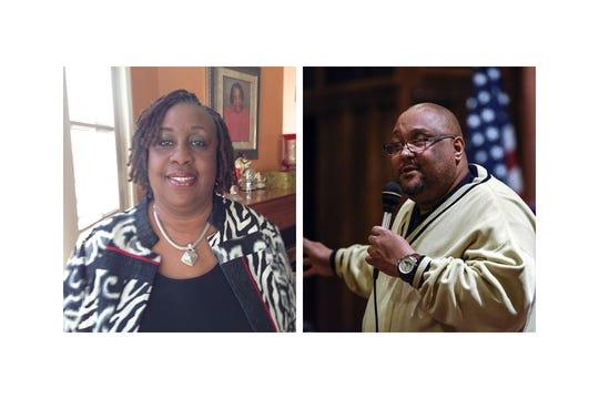 Left: City Councilwoman Connie Robinson; Right: Rev. William Payne