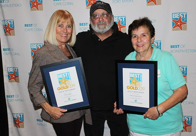 The Best of Estero and Bonita 2019 Reader's Choice awards presented by The News-Press were held Wednesday evening at The Center for the Performing Arts in Bonita Springs. The award recognizes businesses with excellence in products, performance or services.