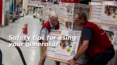 Safety tips for using your generator