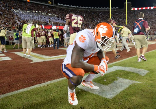 The last time Clemson the sting of a  loss in September was at Florida State in Tallahassee, Florida, on Sept. 20, 2014.
