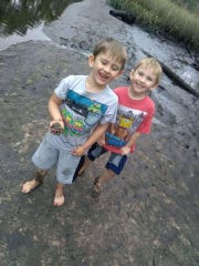 Twin brothers Dylan Clark, left, and Camryn Clark died in a DUI-related vehicle crash involving their mother in Pickens County. They were 6 years old.