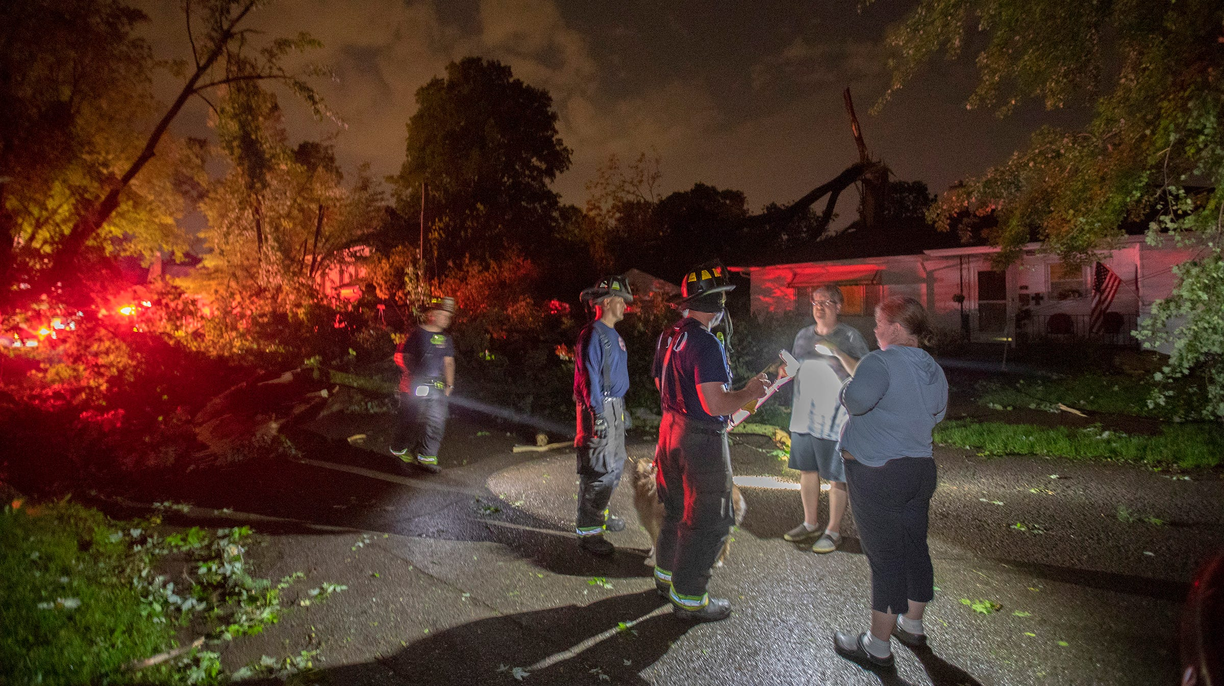 Indiana Weather Pendleton Area Hit By Memorial Day Tornado